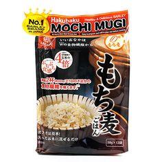 Mochi Mugi Japanese-Style Barley by Hakubaku Japanese Style, Mochi, Cereal, Grains, Snack Recipes, Chips, Pasta, Breakfast, Healthy
