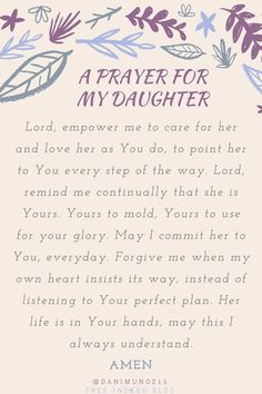 """Job rose up early. As the sky drifted from blackness to soft indigo to warm yellow light, he diligently constructed altars for each of his children, bringing sacrifices of worship on their behalf..."" Prayer for Daughters 