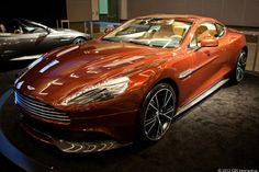 Aston Martin V12 Vantage.  In my dreams, I am driving this...
