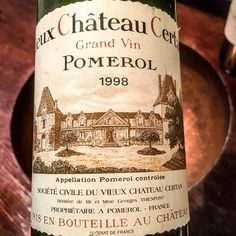 1998 Vieux Chateau Certan Pomerol Bordeaux France  You cant not appreciate VCC!  The wine shows maturity with graphite and pencil shavings matched by ripe fruit and spicy earth notes.  ______________________________________________________ #VieuxChateauCertan #VCC #ChateauCertan #Pomerol #GrandVin #Bordeaux #Wine # #FineWine #BordeauxWines #BordeauxWine #Sommelier #1998 #TastingNotes #WineTasting #WinesOfInstagram #Winestagram #InstaWine #WineTasting #WineTime #红酒 #葡萄酒 #WineLover