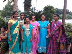 Sisters from Andrapradesh, India