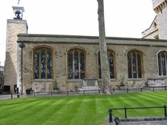 Tower of London. Chapel Royal of St. Peter ad Vincula