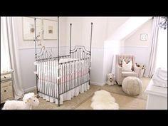 Basically my dream nursery. Nursery Tour! 37 Week Pregnancy Update & Symptoms - YouTube