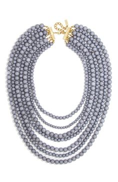 Baublebar 'Bold' Multistrand Beaded Statement Necklace available at #Nordstrom