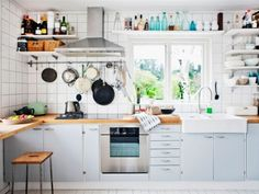 These 13 Kitchen Designs have taken Shelves to the quirky level of design | Ideas | PaperToStone