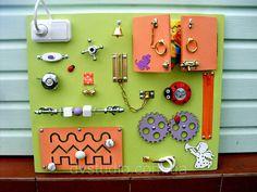 Pannello occupato Arancione giocattolo per