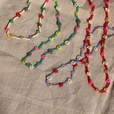 Seed Bead Jewelry, Bead Jewellery, Cute Jewelry, Diy Jewelry, Beaded Jewelry, Jewelery, Handmade Jewelry, Jewelry Making, Gothic Jewelry
