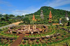 Nong Nuch Tropical Garden in Pattaya, Thailand Pattaya Thailand, Beautiful Beaches, Beautiful Gardens, Bangkok, Parc Hotel, Gardens Of The World, Krabi, City Break, Tropical Garden