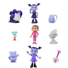 £5.58 GBP - Hot Vampirina Cartoon Batwoman Girl Action Figures Cake Toppers Doll Toy Gifts #ebay #Collectibles