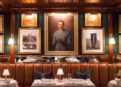 Gorgeous new spot the Polo Bar by Ralph Lauren with the kind of interior you just want to sit down and order a Manhat...