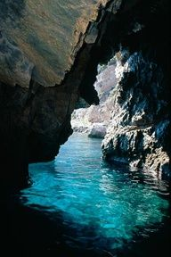 The Blue Grotto, Isle of Capri.