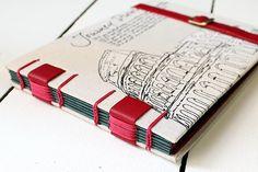 Livro para Memórias de Viagem | von Lilou Estúdio - Danieli Bárbara