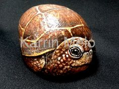 Garden art/Painted Rocks / Hand Painted Baby by MeloArtGallery, $59.00