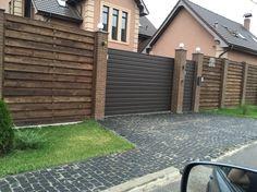 Забор с воротами