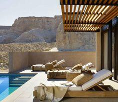 Desert modern collection from Ralph Lauren Home. Love the earth tones.