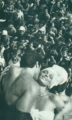 """""""Vanity Fair Nov 1985 - Sylvester Stallone & Brigitte Nielsen by Helmut…"""