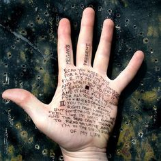 Hand poetry