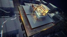 Видеоурок по Cinema 4d & AE: Построение глянцево-стеклянной композиции on Vimeo
