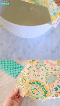 DIY Beeswax Wraps Learn how to make beeswax wraps from cotton fabric, beeswax and jojoba oil with this simple step-by-step and video tutorial. These can be used to cover and wrap food as a reusable alternative to plastic cling wrap. Bees Wax Wrap Diy, Diy Beeswax Wrap, Bees Wax Wraps, Bees Wrap, Fabric Crafts, Sewing Crafts, Sewing Projects, Sewing Tips, Sewing Hacks