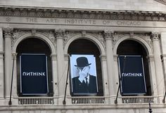 """Art Institute of Chicago, 2014: """"Unthink"""" Magritte campaign made by Chicago ad agency Leo Burnett."""