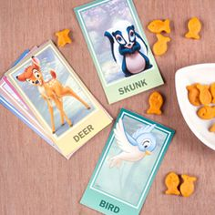 Bambi Flash Cards Download: http://a.family.go.com/images/cms/disney/PDFs/bambi-flash-cards-printables-0111.pdf