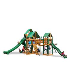 Another great find on #zulily! Gorilla Playsets Treasure Trove II Swing Set by Gorilla Playsets #zulilyfinds