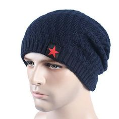 3f56456f342e4 2017 Brand Men s Knit Hat Beanies Men Winter Hats For Men Bonnet Skullies  Caps Women Winter Beanie Warm Thicken Baggy Mask Hats