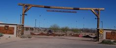 Horseshoe Park and Equestrian Centre in Queen Creek, Arizona.