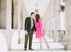 St. Augustine Florida engagement shoot | Photo by Jennifer Blair Photography | Read more - http://www.100layercake.com/blog/?p=77392