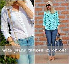 How To Style A Button-Up Blouse   Button-Up Blouse   Style   Outfit Ideas   Spring Outfit   Cute skirt   Easter outfit ideas   Easter outfits - Living in Color