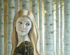 paintings with gold leaf - Google Search
