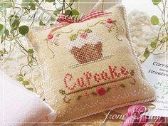 Cupcake Pillow..idée finition