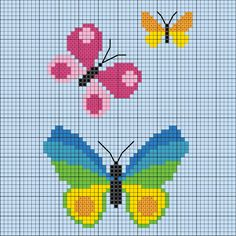 ADVERTISEMENT ADVERTISEMENT Embroider simple spring motifs for children – Discover this motif and numerous other free charts and embroidery patterns for embroidery here. Cactus Cross Stitch, Butterfly Cross Stitch, Mini Cross Stitch, Simple Cross Stitch, Cross Stitch Alphabet, Cross Stitch Charts, Cross Stitch Designs, Cross Stitch Patterns, Cross Stitching
