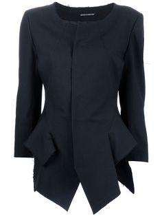 YOHJI YAMAMOTO structured jacket #fashion @ Farfetch