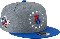size 40 7b00c 3659c New Era Men s Philadelphia 76ers 9Fifty City Edition Adjustable Snapback Hat