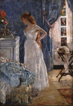 poboh:    La Toilette, Henri Gervex. French Academic Painter (1852 - 1929)