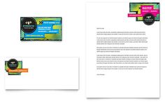 Accounting Tax Services Business Card Letterhead Template By - Publisher business card templates