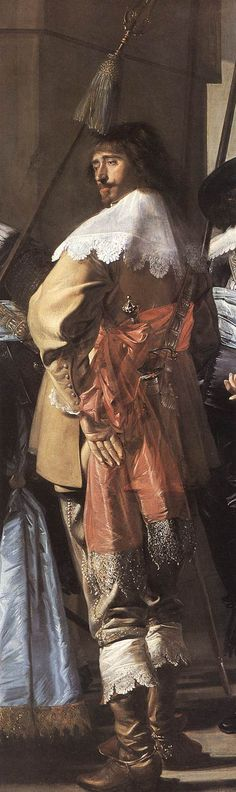 The Meagre Company, detail, 1633-37 Frans Hals
