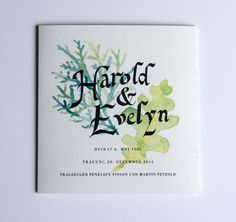 In 1981, Harold and Evelyn were married at city hall. After 33 years they wanted to celebrate their successful partnership with a vow ceremony at their church. Together we designed a program to serve as a memento for each guest in attendance.