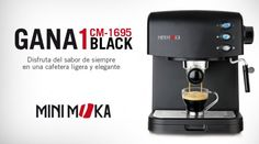 Gana 1 cafetera CM-1695 BLACK