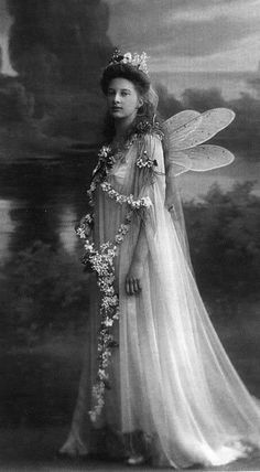 Princess Tatiana Constantinova of Russia as a fairy.