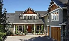 1000 images about on pinterest l for L shaped craftsman home plans