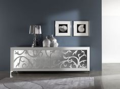 Contemporary White Sideboards With Luxury Finishes By Rifleshi | DigsDigs