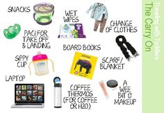 tips for traveling with babies