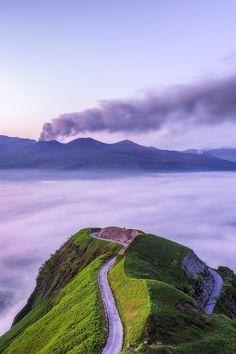 Road to Heaven Shuman Saito Aso, Japan