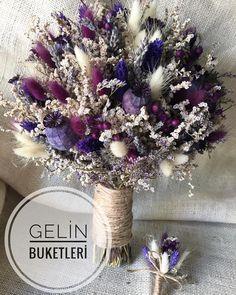 Rustic Wedding Flowers, Bride Flowers, Flower Bouquet Wedding, Dry Flowers, Blue Flower Tattoos, Blue Flower Arrangements, Winter Bridal Bouquets, Fall Bouquets, Centerpiece Wedding
