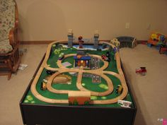different ways to set up Imaginarium train tracks - Google Search · Train TableThomas ... & Thomas Train Table \u003cb\u003eLayout\u003c\/b\u003e Plans Plans Free Download ...