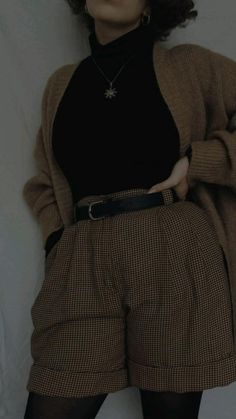 Mode Outfits, Retro Outfits, Cute Casual Outfits, Fall Outfits, Vintage Outfits, Fashion Outfits, Fashion Pants, Fashion Ideas, Aesthetic Fashion