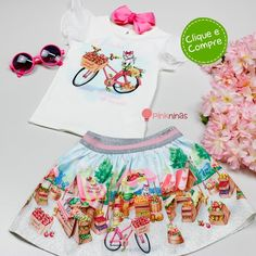 Kids Outfits Girls, Kids Girls, Cinderella Cupcakes, Bookmarks Kids, Frocks, Boho Shorts, Off White, Barbie, Clothes