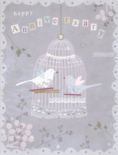 'Happy Anniversary' Luxury Card by Hilary Yafai, features 'Silver Foil'… Happy Anniversary Wedding, Happy Aniversary, Happy Anniversary Wishes, Birthday Postcards, Happy Birthday Cards, Birthday Greetings, Birthday Wishes, Wedding Greetings, Anniversary Pictures